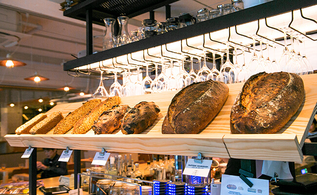 『BARTIZAN BAKERY&CAFÉ(バルティザン・ベーカリー&カフェ)』のパン