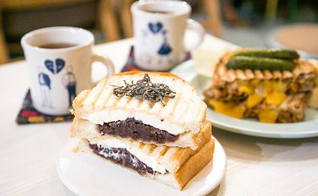 『City Coffee Setagaya(シティコーヒーセタガヤ)』のホットサンド