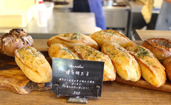 『丘の上のパン屋』の博多明太子