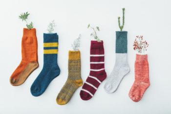 個性的な靴下で冬コーデのマンネリを打破!今気になる靴下ブランド4選