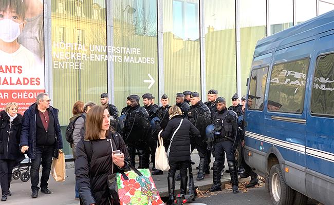 フランス ストライキ