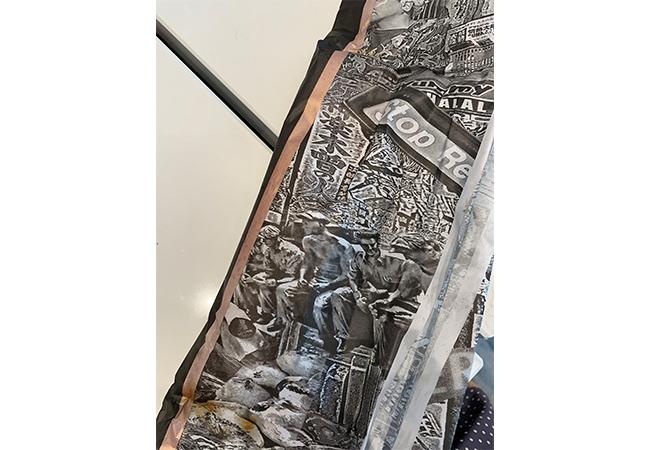 「ブレッドマキ」の包み紙
