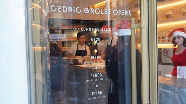 セドリック・グロレ氏の新名店『cedric grolet opera』