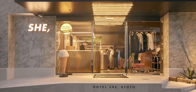 HOTEL SHE外観