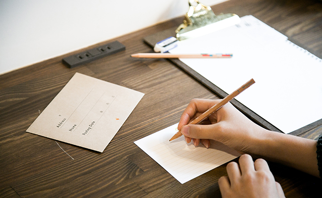 1年後の自分へ手紙を書く「TOMOSHIBI LETTER」