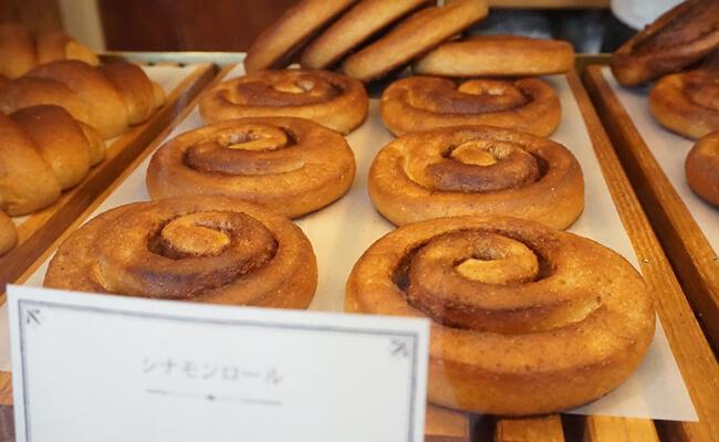 京都・出町柳『ナカガワ小麦店』のシナモンロール