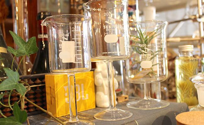 ビーカーワイングラス