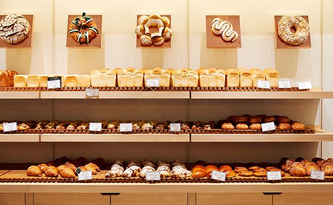 『ティエリー マルクス ラ ブーランジェリー』のパン