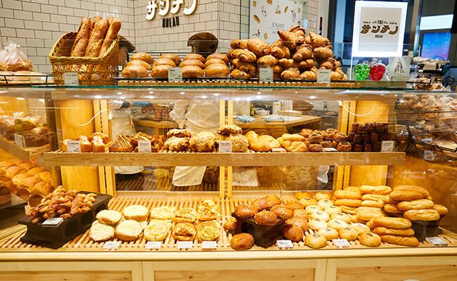 『ベーカリー サンチノ』のパン