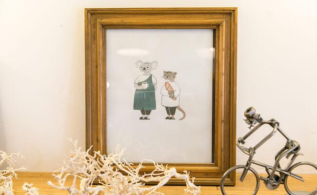 """授業で描いた """"理想のパン屋さん""""が現実に。夫婦二人三脚で営む『三角屋根 パンとコーヒー』"""