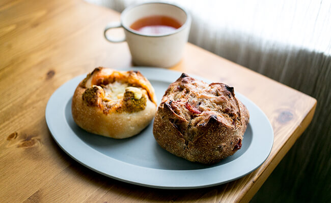 早稲田『神田川ベーカリー』のパン
