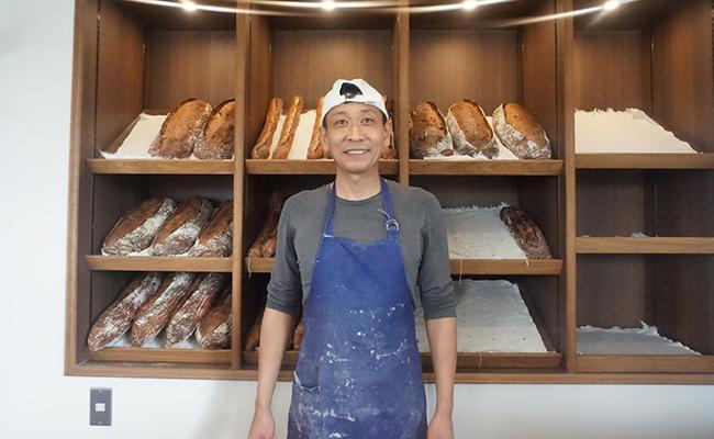 京都・松ケ崎『吉田パン工房』の吉田さん