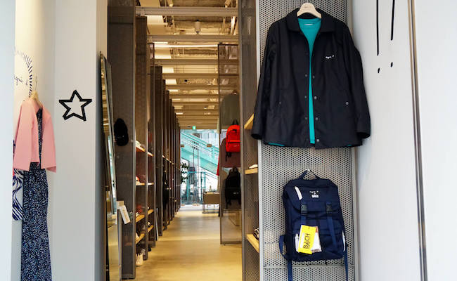 お買い物に、カフェタイムに!渋谷にできたフレンチなスポット『アニエスベー 渋谷店』