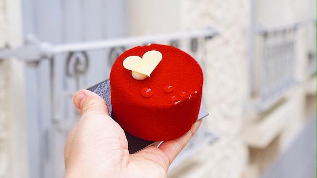 男性から女性へ愛を伝える日。フランスのバレンタインケーキをご紹介