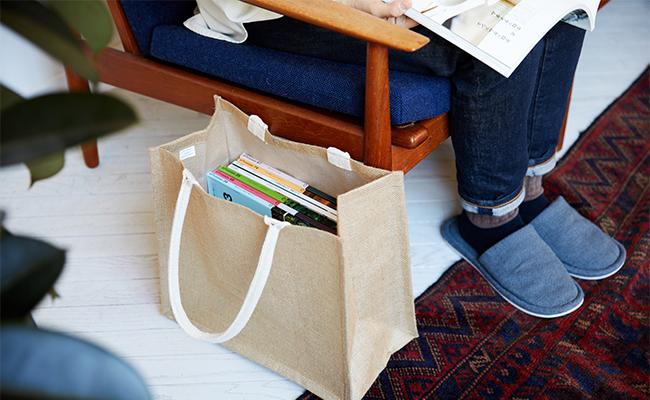 豊富なラインナップで使いやすい!無印良品のマイバッグ