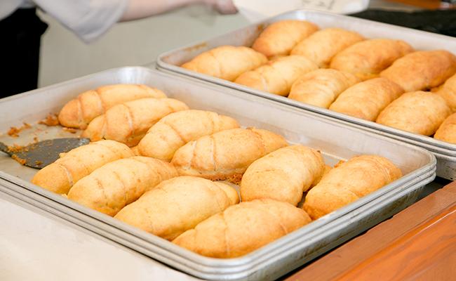 『塩パン屋 パンメゾン』の塩メロンパン
