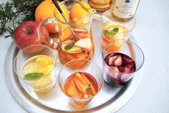 余ったワインを使って気軽に作る!サングリアアレンジレシピ4選