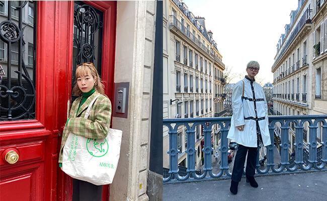 パリを愛してやまない2人が営む移動式の古着屋『Blanche Market』で、一期一会の出会いを。