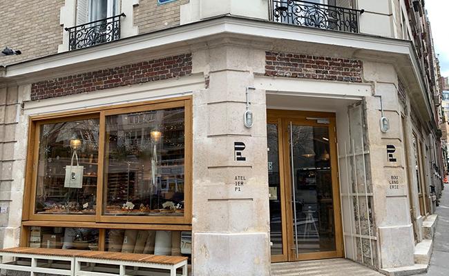 パリのパン屋『ATELIER P1』の外観