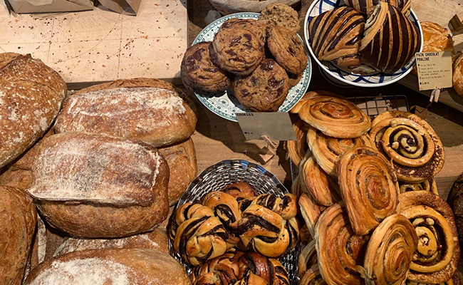 パリのパン屋『ATELIER P1』のパン