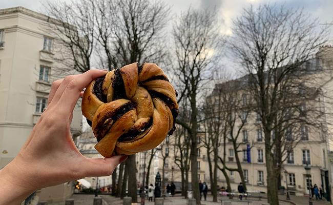パリのパン屋『ATELIER P1』のバブカ