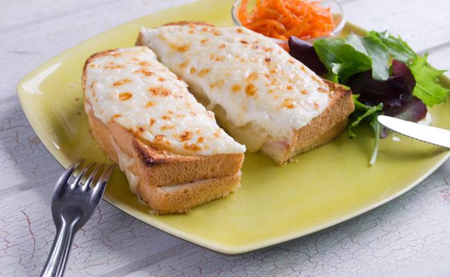 【濃厚チーズが決め手のクロックムッシュ】