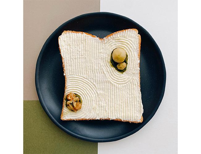 枯山水のパンアート