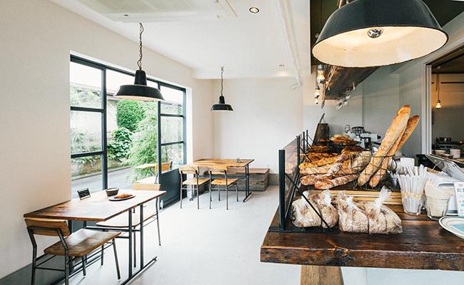 『Universal Bakes and Café(ユニバーサル ベイクス&カフェ)』の店内