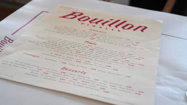『Bouillon Pigalle』