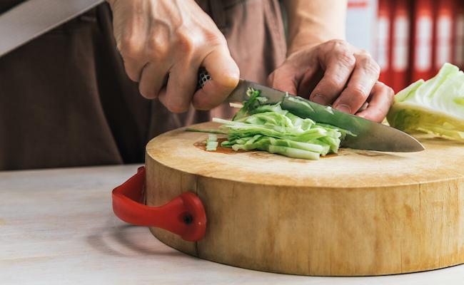 エビのサラダ ライスペーパー添えの作り方