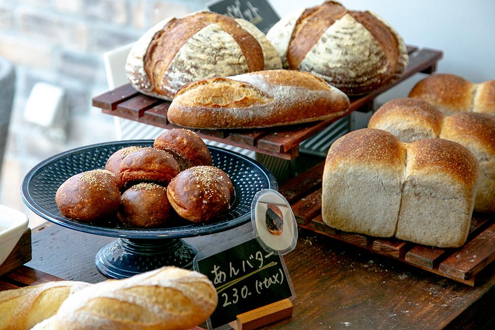 田園調布『est Panis』のりんご酵母のパンと「あんバター」