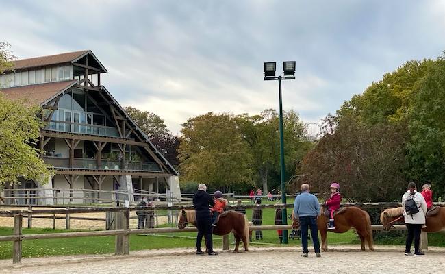 乗馬の広場