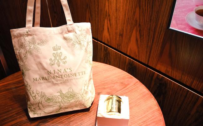 「バラの香りが広がるデザートとニナスの紅茶セット」のプレゼント