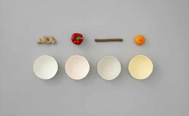 「FOODPAPER」の小皿