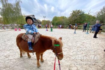 子どものバカンスに親は必死!?との家は乗馬コースを体験!