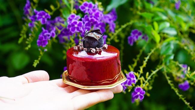 季節限定のムースケーキ「巨峰」
