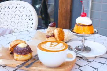 しっとり食感のスコーンと固めプリンに心を満たされて。浅草『feb's coffee & scone』