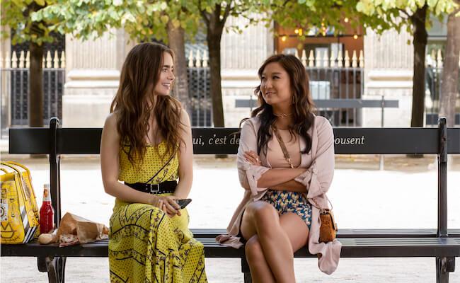 Netflixオリジナルシリーズ『エミリー、パリへ行く』独占配信中