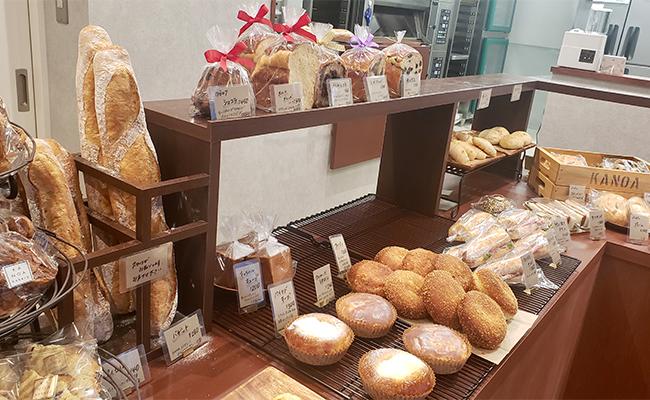 KANOA bakeryの店内