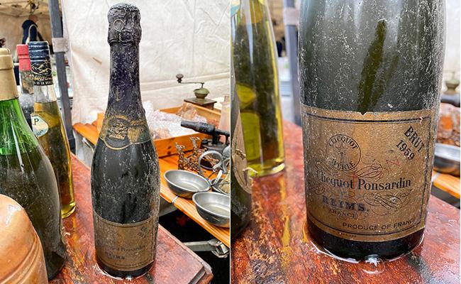 何とヴィンテージの『ヴーヴ・クリコ』のシャンパンがありました