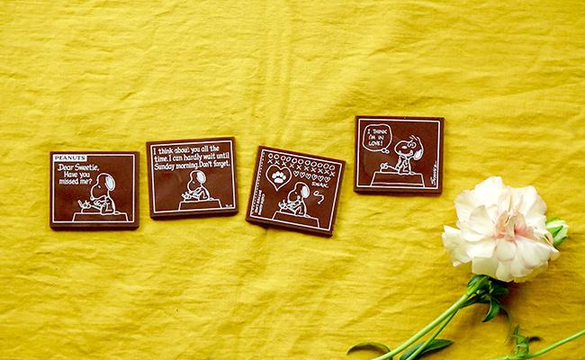 「PEANUTS」の世界観をテーマにした和のチョコレートブランド『SNOOPY Chocolat』