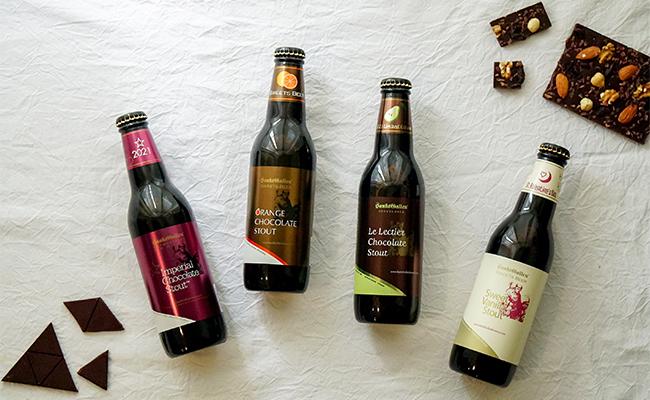 チョコレートのようなビールで乾杯!『サンクトガーレン』のチョコビール