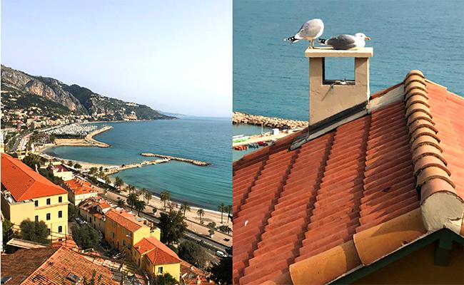 イタリアとフランスの国境沿いにあるため、至るところにイタリア語も現れ始めます。