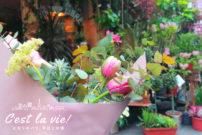 花を飾ろう、日常に彩りを。花の都パリの春。