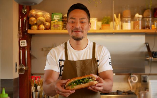 京都大原の有機野菜×ベトナムのストリートフード!『120gバインミー京都』