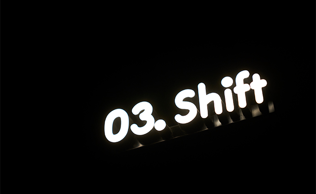 『Medicha』のメディテーションは、「Tune In」と「Open Up」、「Shift」、「Align」といった4つの空間に分かれているのが特徴。