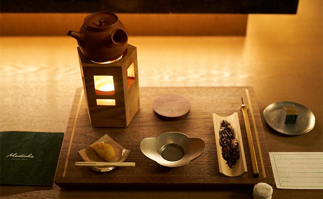 最後は、まるで茶室のように落ち着いた空間「Align」でお茶をいただきながら、メディテーションを通じて得た気づきを自分の中へと落とし込みます。