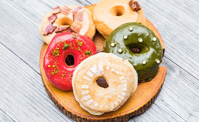 「ドーナツ」の絵力…!見た目もおいしいドーナツは手土産にもおすすめ
