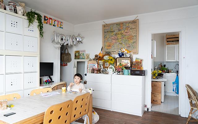 パリの小さなアパルトマン。35㎡を自分らしく、快適にアレンジ!