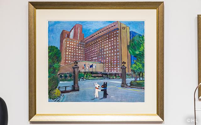 リサとガスパールが帝国ホテルにやってきた!